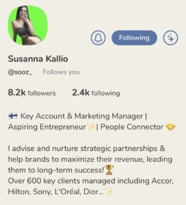 Susanna Kallio Clubhouse